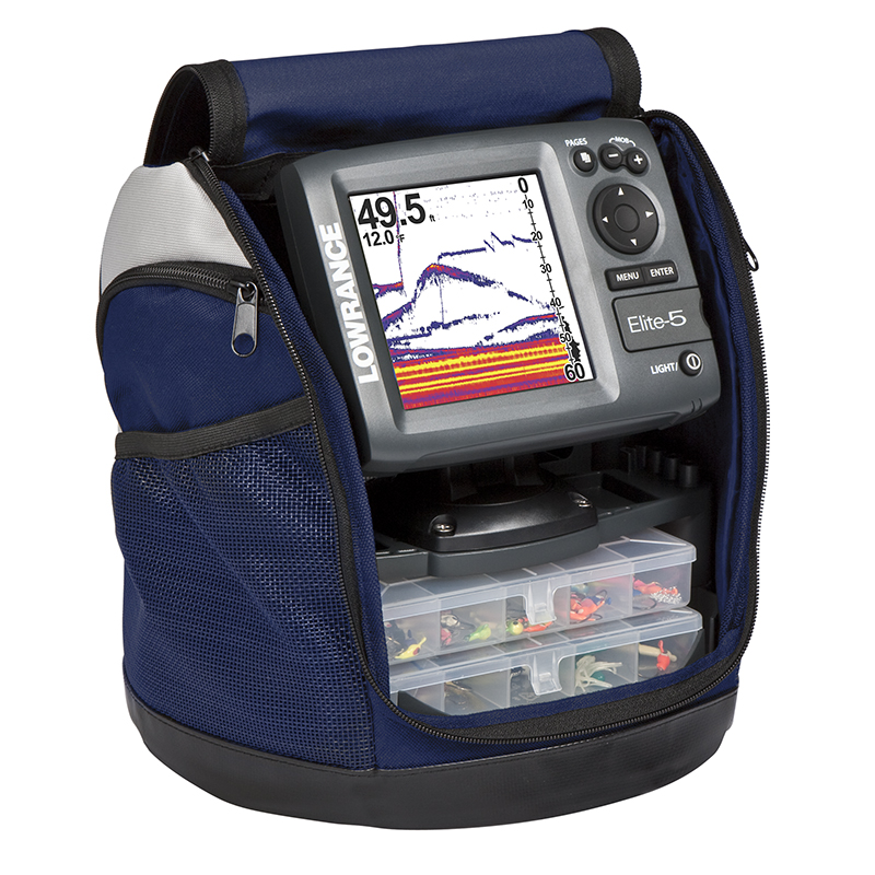Lowrance Elite-5 HDI Ice Machine