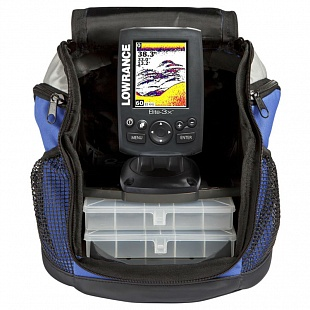 Lowrance Elite-3x All-Season Fishfinder Pack 83/200
